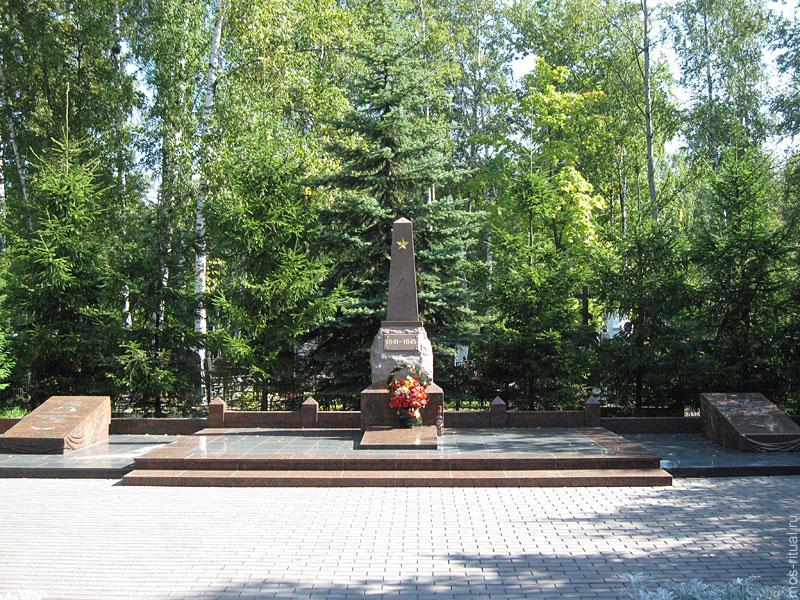 Заказать цоколь на могилу Долгопрудненское кладбище